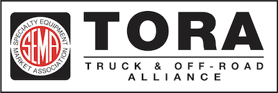 Truck & Off-Road Alliance (TORA) logo in black and white
